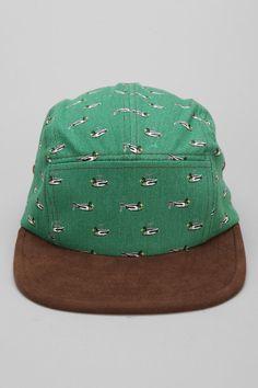 Rosin Mallard 5-Panel Hat 5 Panel Hat, Mallard, Urban Outfitters, Cool Style, Hats, Leather, Cotton, Accessories, Style Fashion