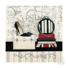 Charming Travel I Giclee Print by Marco Fabiano at Art.com