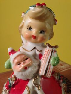 Shopper Bloomer Angel Girl Figurine Christmas Vintage Gift Santa Lefton Napco | Collectibles, Decorative Collectibles, Figurines | eBay!