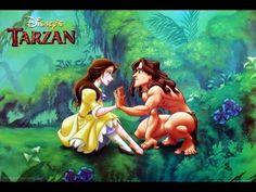 Animation Movies | Tarzan 1999 cartoon full movie | Cartoons for childre...
