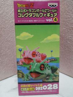 New Dragon Ball 028 DWC World Collectable Frog Ginyu Figure Mega Rare