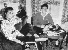 Yasmin & Simon Le Bon, 1985
