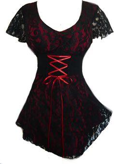 Sweetheart corset top in Wine