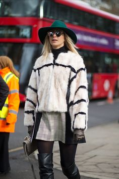 The Best London Fashion Week Street Style: Fall 2015