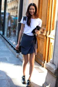 Liu Wen, love her outfit