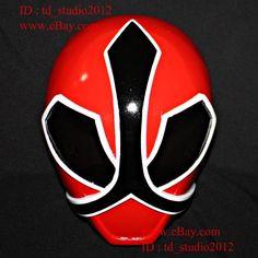 1:1 costume cosplay mask power ranger samurai sentai shinkenger red helmet pr11 from $228.0