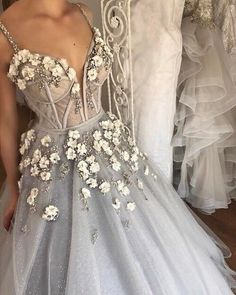 Sparkly Prom Dress, Long Floor Length ball gown quinceanera dresses Evening Dresses Glamorous Prom Dress light gray Graduaction Dresses These 2020 prom dresses include everything from sophisticated long prom gowns to short party dresses for prom. Floral Prom Dresses, Classy Prom Dresses, Chic Wedding Dresses, Ball Dresses, Elegant Dresses, Pretty Dresses, Evening Dresses, Gown Wedding, Sequin Wedding