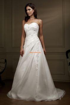 Cuore Glamour Allacciato Abiti da sposa di lusso