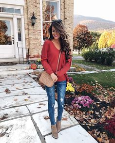 fall outfit ideas... love the booties and jeans