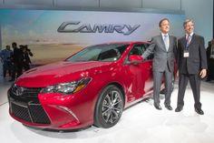 2015 Toyota Camry showcased !