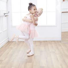 3-year-old #besties Ever and Ava love to learn new dance moves, especially when…
