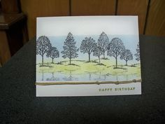 Lovely as a tree  a litttle birthday cheer bashful blue old olive