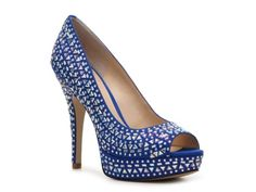 Love the idea of shoes as something blue -- Enzo Angiolini Saady Pump