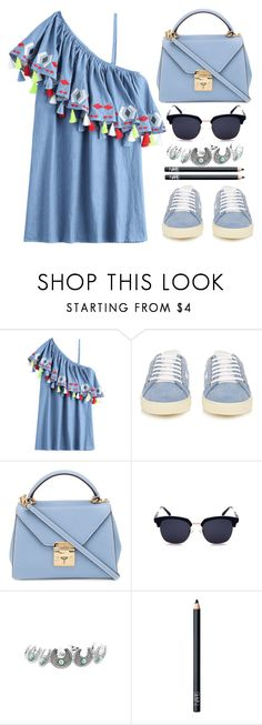"""""""My Style"""" by simona-altobelli ❤ liked on Polyvore featuring Yves Saint Laurent, Mark Cross and NARS Cosmetics"""