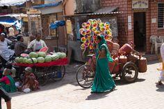Snapshots of a Mumbai Market