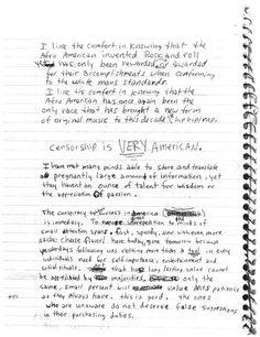 Kurt Cobain's Letters & Journals   Brain Pickings