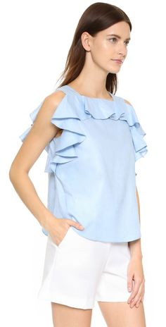 Amanda Uprichard Claudette Top | SHOPBOP SAVE UP TO 25% Use Code: EVENT17