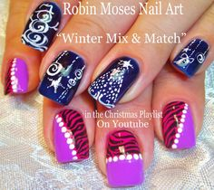 Image result for short nail designs Christmas