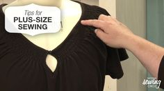 No matter what size you wear, sewing gives you the power to create flattering, well-fitting garments that fit your body and accentuate your best features. Here are some helpful tips for plus size sewing >> www.nationalsewingcircle.com/video/plus-size-sewing-fitting-tips #learnmoresewmore