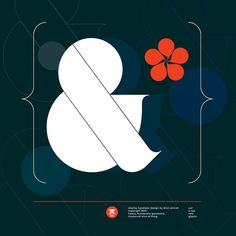 Ogaki Typeface by Hungarian designer Aron Jancso Typographic Poster, Typography Letters, Typography Logo, Freelance Graphic Design, Modern Graphic Design, Typography Inspiration, Graphic Design Inspiration, Color Inspiration, Ampersand Sign