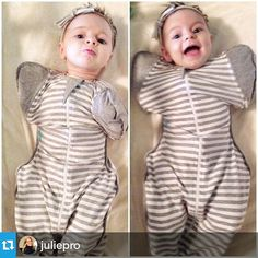 Look at this little love bug!! Repost from @juliepro  The cutest little faces after nap time. This @lovetodreamusa swaddle is her favorite. #armsupbaby