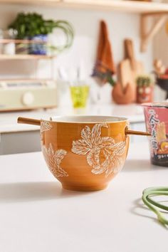 Shop Mix + Match Noodle Bowl + Chopstick Set at Urban Outfitters today. Urban Outfitters, All You Need Is, Ramen, Floral Shower Curtains, Snack Bowls, Noodle Bowls, Paper Towel Holder, Dinnerware Sets, Chopsticks