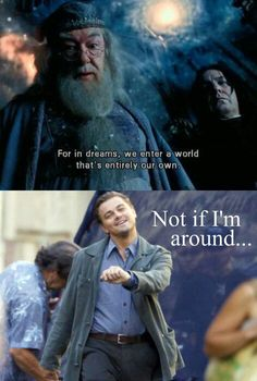 Harry Potter and Inception crossover