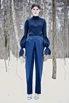 Vika Gazinskaya Fall 2013 Ready-to-Wear Fashion Show