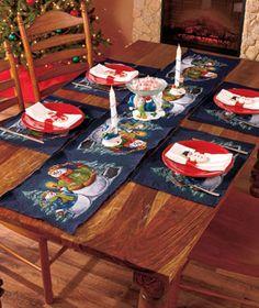 Snowman Table Decor