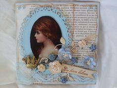 En liten hilsen Vintage Cards, I Card, Frame, Inspiration, Home Decor, Blogging, Homemade Home Decor, Biblical Inspiration, A Frame