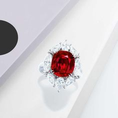 Lot 639 in Phillips Hong Kong sale on 25 November is a 5.22-carat Burmese ruby ring.