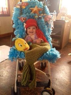 Little mermaid baby