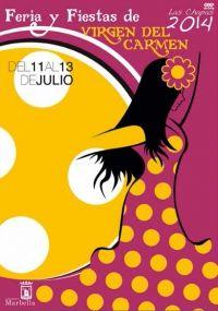 Virgen del Carmen, Feria y Fiestas Marbella, Spain