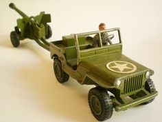 Dinky Toys Military Jeep