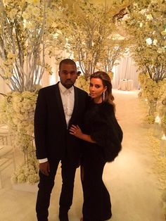 Kim Kardashian and Kanye west couples love favorite celebrities