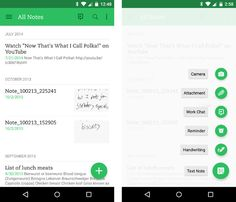 material design apps android evernote