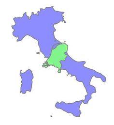 www.comparea.org - vergelijk de oppervlakte van landen met elkaar!