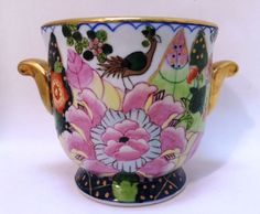 Andrea By Sadek Asian Imari Style Floral Vase 8799 Made In Japan Sold Pinterest