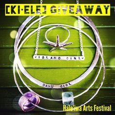 """: LAST CHANCE (today+tomorrow) [ki•ele] IG-Facebook GIVEAWAY TIME + Only days away from the 16th Annual Hale'iwa Arts Festival! Visit [ki•ele] Booth 71 @ Hale'iwa Beach Park, THIS Saturday, July 20 [10am-6pm] + Sunday, July 21 [10am-5pm]. Show specials, daily deals + exclusive pieces 