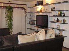 DIY Wall-Mounted TV Shelving Unit