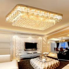 Cheap Chandeliers, Buy Quality Lights & Lighting Directly from China Suppliers:Luxury Gold Crystal Chandeliers Ceiling Surface Remote Control K9 Led Modern Chandelier Lighting Lustre Living Room Bedroom Enjoy ✓Free Shipping Worldwide! ✓Limited Time Sale✓Easy Return.