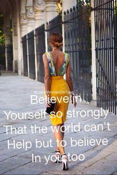 Believe! fb.com/WomenOnTopp