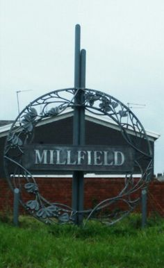 Sign to Milfield in Sunderland