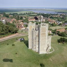 Orford Castle and village, Suffolk. Suffolk Coast, Suffolk England, English Heritage, Heritage Site, Castles In England, English Castles, Amazing Buildings, England And Scotland, Live In The Now