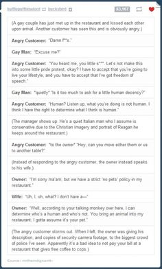 Angry Customer << This is literally the best thing I have ever read Tumblr Funny, Funny Memes, Hilarious, Be My Hero, Gives Me Hope, Faith In Humanity Restored, Good People, In This World, Make Me Smile
