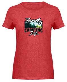 Family Camping Trip Design Geschenkidee | Damen Basic T-Shirt - camping-macht-gluecklich.myshopify.com – Cool Camping Family Camping, T Shirts, Mens Tops, Design, Gifts For Campers, Campsite, Tee Shirts, T Shirt