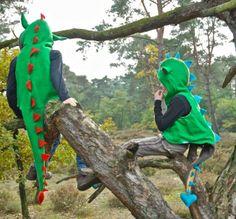 Een Drakenpak om van te houden #draken #verkleden