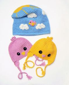 Matching Hats Baby Twins Hats New Mom Gift Newborn Photo by 2mice