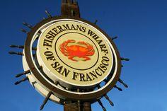 Visita Fisherman's Wharf y cómete un cangrejo rojo con vistas a Alcatraz en San Francisco, California, Estados Unidos