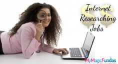 How To Make Money With Online Internet Researcher Jobs? @nirmala25